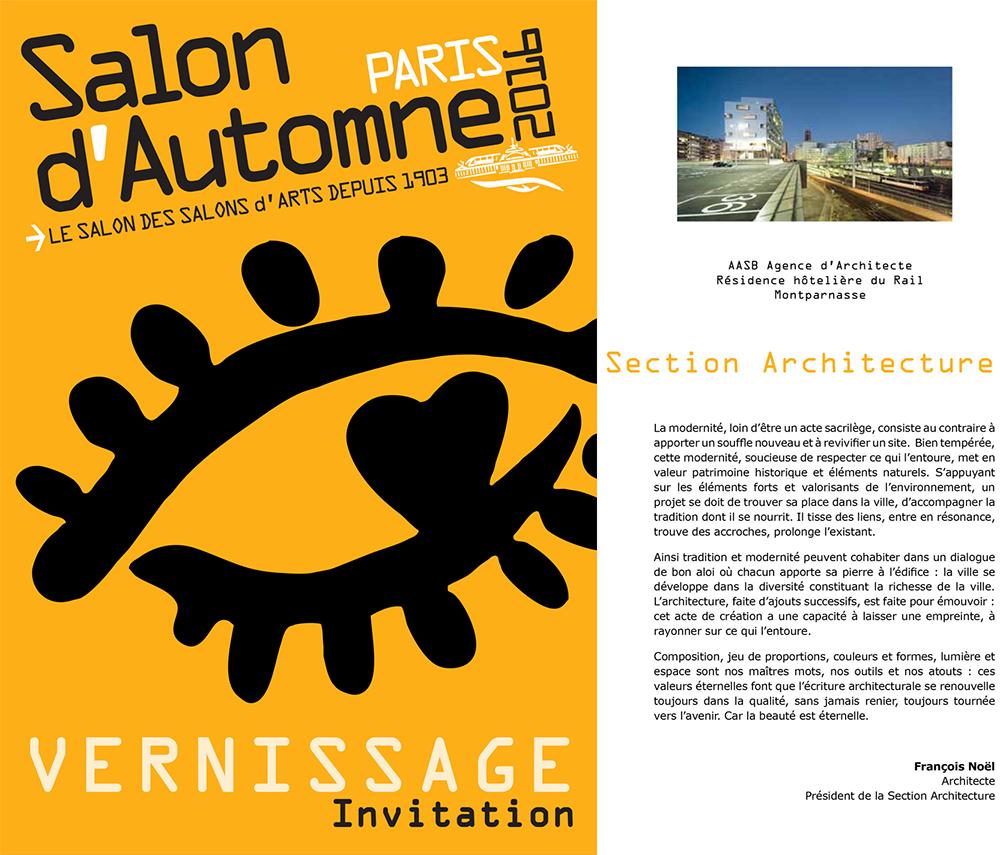 salon automne+section architecture