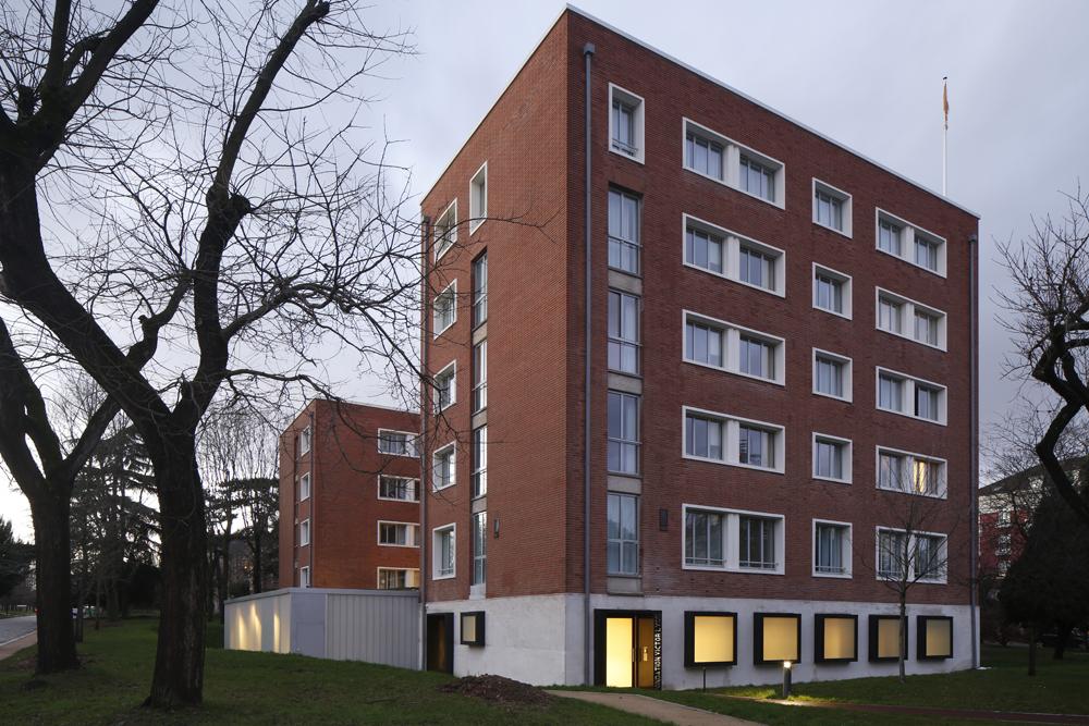 victor lyon façade cité universitaire ciup
