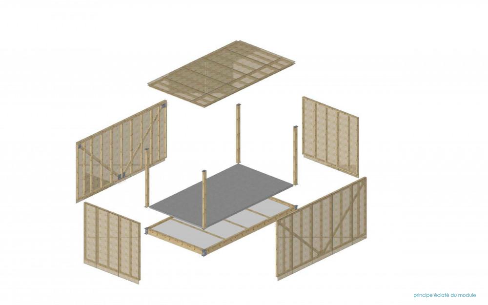 E - DT tech éclaté module